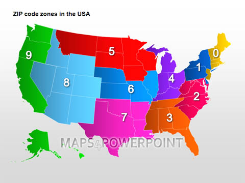 U.S. PowerPoint Maps Standard Kit. Maps4PowerPoint.com on long island ny zip code map, miami zip code map, ups zone map, zip codes in galveston county, zip code sector map, county zone map, post office zone map, zip zone chart united states, zip code heat map, florida zip code map, zip codes by county map, zip code regions map, hardiness zone map, freight zone map, postal zone map, riverside city zip code map, zip code territory map, us zip code map, time zone map, zip code national map,